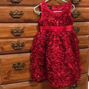 Other - A kids red sparkly  dress